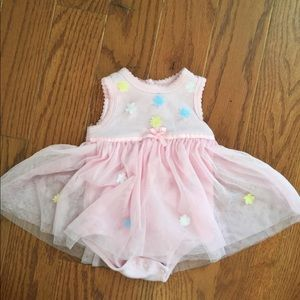Girls onesie with tutu/5 Baby items for $20